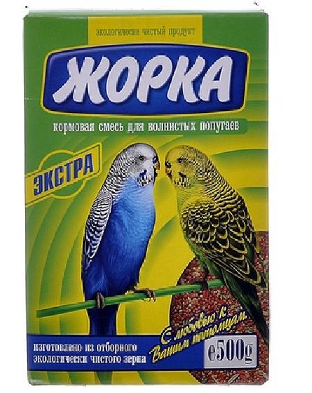 Жорка Для волнистых попугаев Экстра, 0,500 кг, 52722