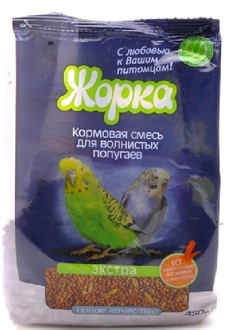 Жорка Lux для волнистых попугаев Экстра, 0,450 кг, 40187