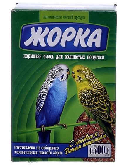 Жорка Для волнистых попугаев (коробка), 0,500 кг, 52717