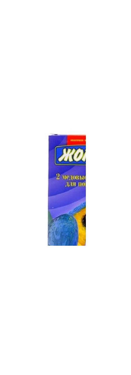 Жорка 2шт. Палочки для попугаев Ассорти, 0,080 кг