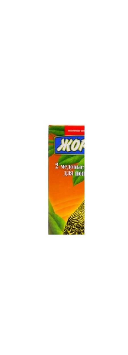 Жорка 2шт. Палочки для попугаев с Абрикосами, 0,070 кг