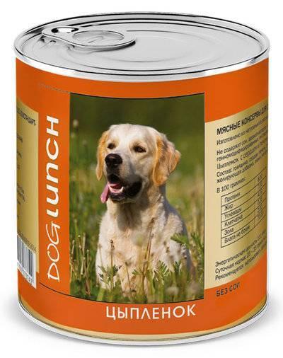 Dog Lunch влажный корм для взрослых собак, цыпленок в желе 750 гр