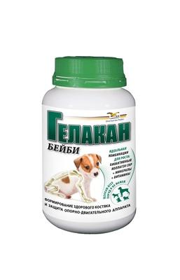 Гелакан Кормовая добавка для щенков Бейби (Gelacan Baby) 500г , 0,500 кг