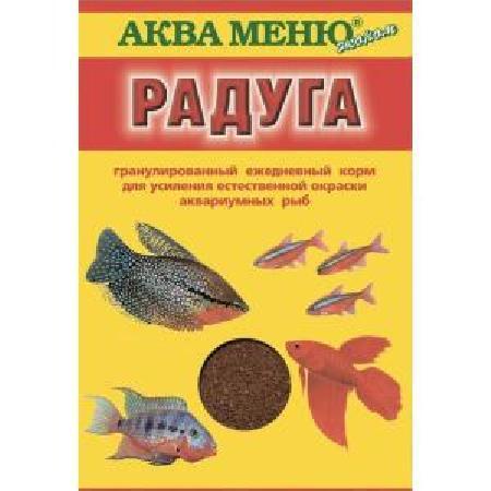 Аква Меню Корм Радуга  650171, 0,025 кг, 40318
