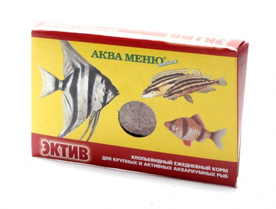 Аква Меню Корм Эктив 650218, 0,011 кг, 40319