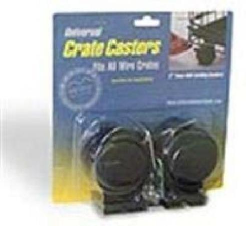 MidWest колеса для клеток Universal Crate Caster универсальные 2 шт.