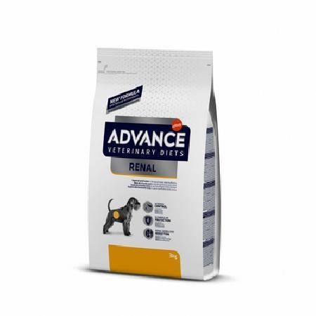 Advance корм для взрослых собак всех пород при паталогии почек 3 кг