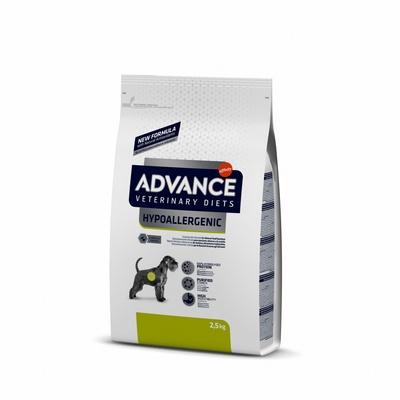 Advance (вет. корма) Гипоаллергенный корм для собак с проблемами ЖКТ и пищевыми аллергиями (Hypo Allergenic) 591219, 2,500 кг