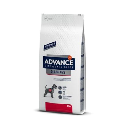 Advance корм для взрослых собак всех пород при сахарном диабете и колитах 3 кг