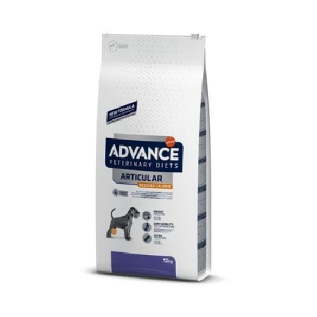 Advance корм для взрослых собак всех пород при заболеваниях суставов и лишнем весе, курица и рис 12 кг