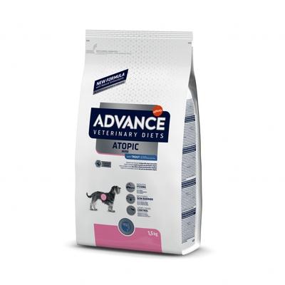 Advance (вет. корма) Для собак малых пород при дерматозах и аллергии (AVET DOG ATOPIC MINI TROUT 1,5KG) 922121, 1,500 кг