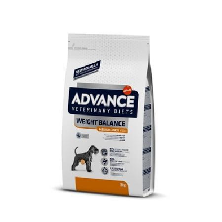 Advance корм для взрослых собак средних и крупных пород при ожирении 3 кг