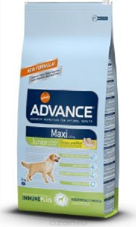 Advance (снят с производства) СМ АРТИКУЛ 35191 Для щенков крупных пород 12-24 мес (Maxi Junior) 514519 .., 15 кг, 13066