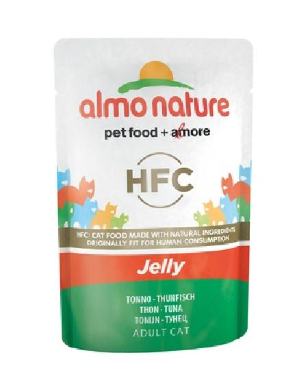 Almo Nature Паучи Тунец в Желе для кошек (HFC - Jelly - with Tuna) 5042, 0,055 кг, 23413