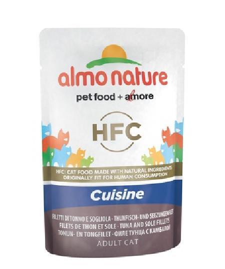 Almo Nature ВИА Паучи для Кошек с Тунцом и Камбалой (Classic Cuisine - Tuna and Sole Fillets) 5834, 0,055 кг, 20481