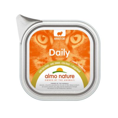 Almo Nature Паштет для Кошек Меню с индейкой (Daily - with Turkey) 353, 0,100 кг, 44592