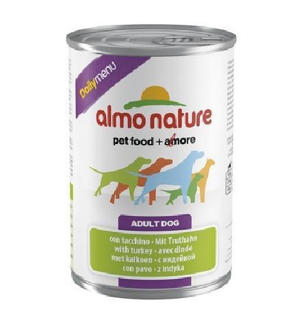 Almo Nature ВИА Консервы для собак Меню с Индейкой (Daily Menu - Turkey) 182, 0,800 кг, 10231