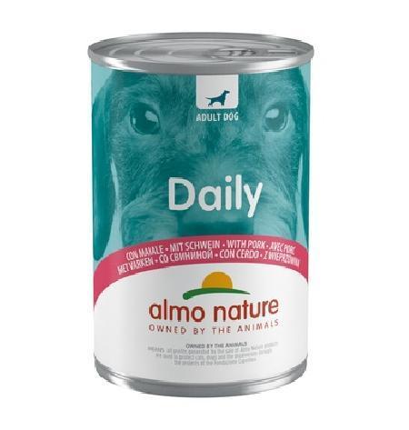 Almo Nature ВИА Консервы для собак Меню со Свининой (Daily Menu - Pork) 185, 0,800 кг, 10372