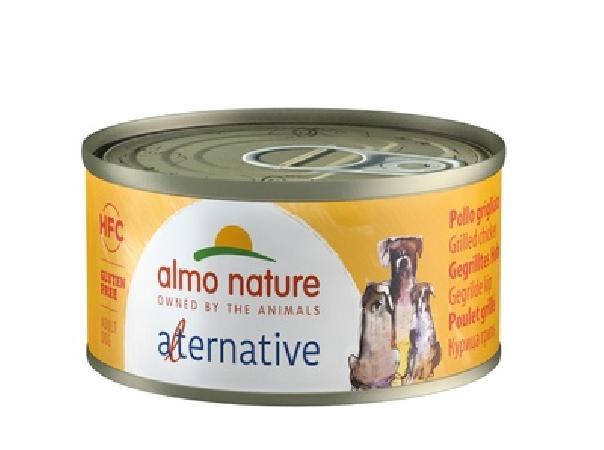 Almo Nature Alternative ВИА Консервы для собак Курица гриль, 55% мяса (HFC ALMO NATURE ALTERNATIVE DOGS GRILLED CHICKEN) 5461, 0,070 кг, 48532