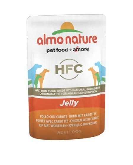 Almo Nature ВИА Паучи для собак Курица и Морковь в желе (Chicken and Carrots - Jelly) 5700, 0,070 кг, 10698