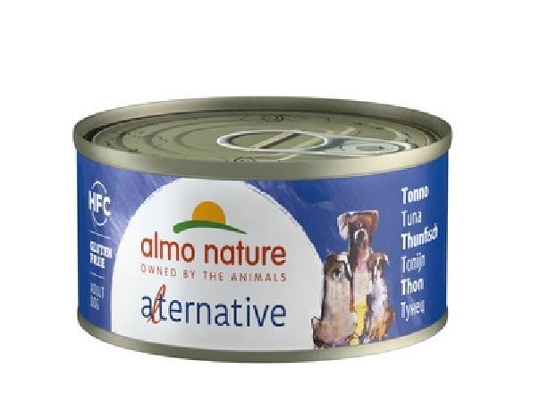 Almo Nature Alternative ВИА Консервы для собак Тунец, 55% мяса (HFC ALMO NATURE ALTERNATIVE DOGS TUNA) 5360, 0,070 кг, 48533
