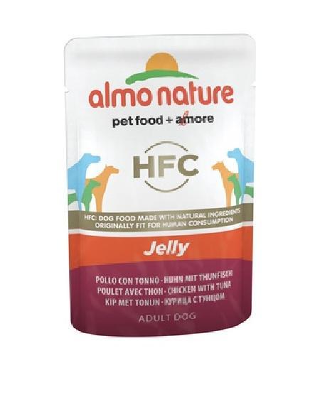 Almo Nature ВИА Паучи для собак Курица и Тунец в желе (Chicken and Tuna - Jelly) 5701, 0,070 кг, 10699