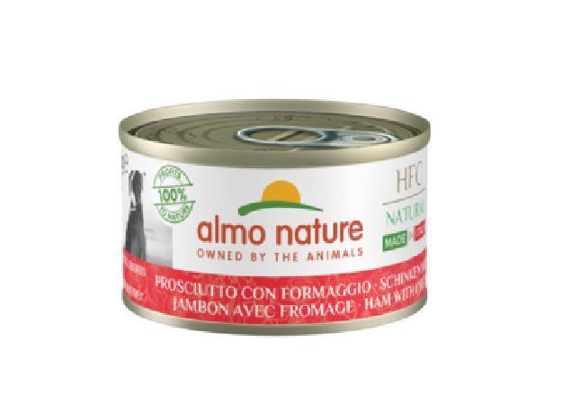 Almo Nature Kонсервы для собак Итальянские рецепты: Ветчина и Сыр (HFC - Natural - Made in Italy - Ham with Cheese ) 5483, 0,095 кг, 49695