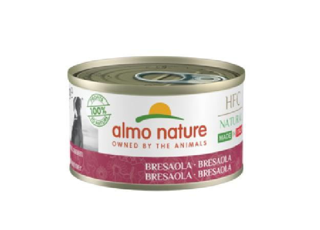 Almo Nature Kонсервы для собак Итальянские рецепты: Говядина Брезаола (HFC - Natural - Made in Italy - Bresaola ) 5480, 0,095 кг, 49692