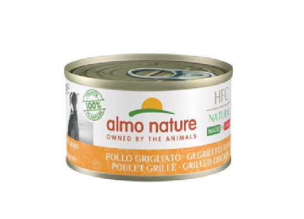 Almo Nature Kонсервы для собак Итальянские рецепты: Курица гриль (HFC - Natural - Made in Italy - grilled Chicken ) 5481, 0,095 кг, 49693