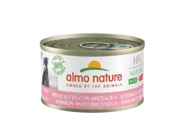 Almo Nature Kонсервы для собак Итальянские рецепты: Ветчина и Говядина Брезаола (HFC - Natural - Made in Italy - Ham with Bresaola ) 5482, 0,095 кг, 49694