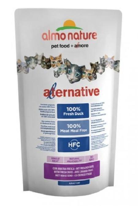 Almo Nature Alternative ВИА Корм со свежей уткой (50% мяса) для кошек (HFC ALMO NATURE ALTERNATIVE CATS 750 G DUCK) 7855, 0,750 кг, 33910