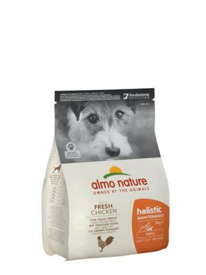 Almo Nature Для Взрослых собак Малых пород с Курицей (Holistic - XS-S - Maintenance Chicken) 714, 2,000 кг