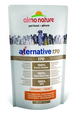 Almo Nature Alternative ВИА Корм со свежим цыпленком и рисом (75 % мяса) для собак карликовых и мелких пород (Alternative 170  Chicken and Rice XS-S) 962, 3,750 кг