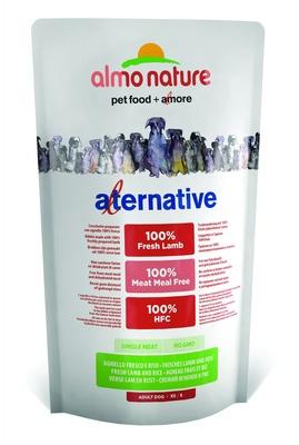 Almo Nature Alternative ВИА Корм со свежим ягненком и рисом (50 % мяса) для собак карликовых и мелких пород (Alternative Fresh Lamb and Rice  XS-S) 7951, 0,750 кг