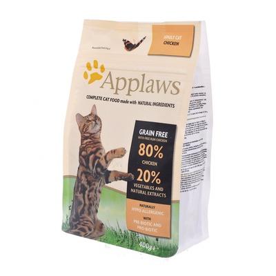 Applaws корм для взрослых кошек всех пород, беззерновой, курица и овощи 400 гр