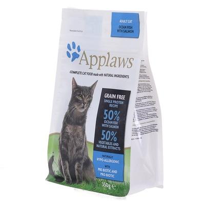 Applaws корм для взрослых кошек всех пород, беззерновой, океаническая рыба 350 гр