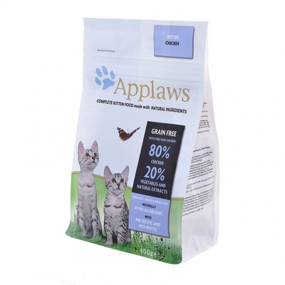 Applaws корм для котят всех пород, беззерновой, курица и овощи 7,5 кг