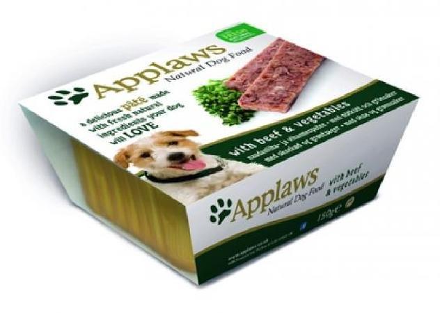 Applaws Паштет для Собак с Говядиной и овощами (Dog Pate with Beef & vegetables) 6253CE-A, 0,150 кг, 10294
