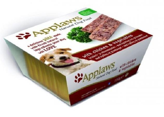 Applaws Паштет для Собак с Курицей и овощами (Dog Pate with Chicken & vegetables) 6250CE-A, 0,150 кг, 10291