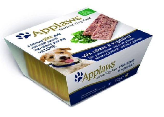 Applaws Паштет для Собак с Лососем и овощами (Dog Pate with Salmon & vegetables) 6254CE-A, 0,150 кг, 10295