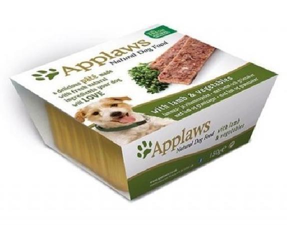 Applaws Паштет для Собак с Ягненком и овощами (Dog Pate with Lamb & vegetables) 6252CE-A, 0,150 кг, 10293