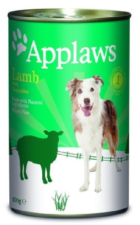Applaws влажный корм для взрослых собак всех пород, ягненок и овощи 400 гр