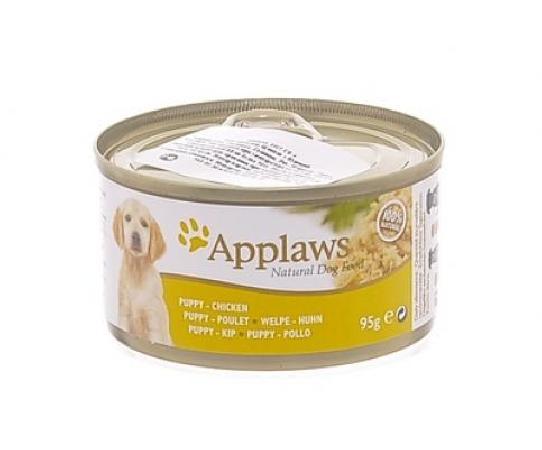 Applaws влажный корм для щенков всех пород, курица 95 гр
