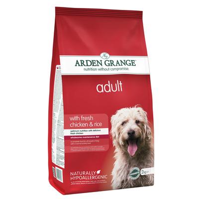 Arden Grange корм для взрослых собак всех пород, курица и рис 12 кг