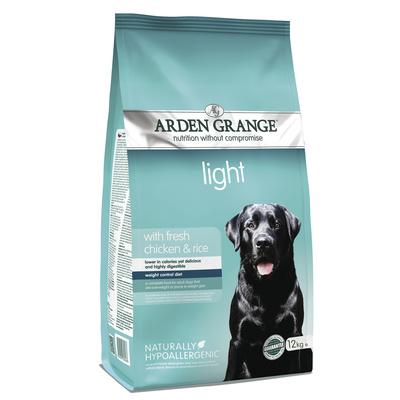 Arden Grange корм для взрослых собак всех пород, контроль веса, курица 12 кг