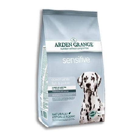 Arden Grange Для взрослых собак с деликатным желудком и чувствительной кожей (Adult Dog Sensitive) AG617345/AG635349, 12,000 кг, 16677