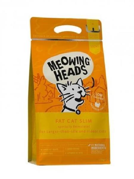 Barking Heads корм для взрослых кошек всех пород, контроль веса, курица и лосось Худеющий толстячок 1,5 кг
