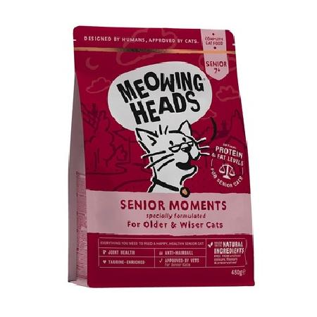 Barking Heads корм для пожилых кошек всех пород, лосось и яйцо Мудрые года 1,5 кг
