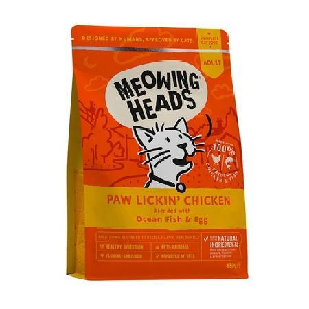 Barking Heads Акция сроки Для Взрослых кошек с Курицей и рисом Куриное наслаждение (Paw Lickin' Chicken 450g) MCK450, 0,45 кг, 20980.акция.сроки
