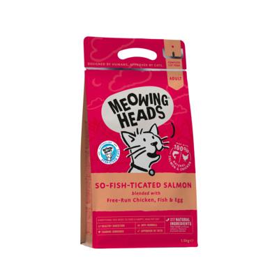 Barking Heads Для Взрослых кошек с Лососем, курицей и рисом Фиш-гурман (So-fish-ticated Salmon 450g) MSL450, 0,450 кг